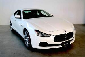 2015 Maserati Ghibli S Q4 **2.9% Certified Pre-Owned Rates**