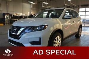 2017 Nissan Rogue S FWD HEATED SEATS, BLUETOOTH, BACK-UP CAM,