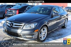 2013 MERCEDES C250 COUPE TOIT PANO, PARKING SENSOR, MAGS AMG