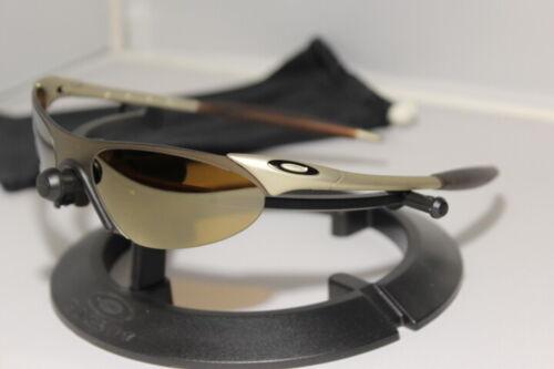 Oakley Zero 0.7 FMJ Platinum/Gold Iridium Ultra Rare 1999 05-283