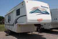 2000 Keystone Montana Fifth Wheel - $81 Bi-weekly