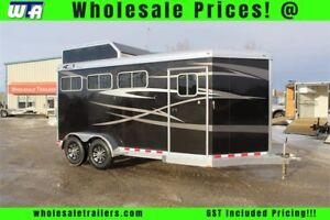 Beautiful 4Star 3Horse Runabout Slant Load!!!