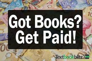 Sell Your Used Textbooks And Make Cash Now!