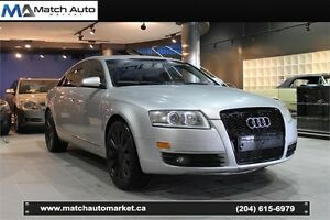 *Safetied* 2005 Audi A6 *Leather*Heated*AWD*Nav*