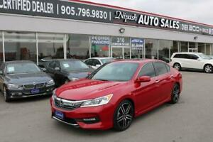 2017 Honda Accord Sport CAMERA,NO ACCIDENTS,1-OWNER ONTARIO CAR