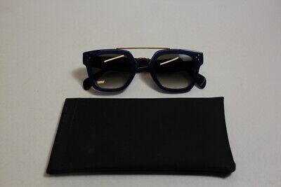 SHELF DISPLAY Celine Bridge Blue 47-25-150 Sunglasses Free (Celine Wayfarer Sunglasses)