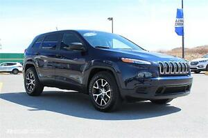 2015 Jeep Cherokee Sport! LIKE NEW! $167 BI-WEEKLY