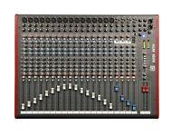 Allen & Heath 24 ZED Mixing deck plus blue flight case