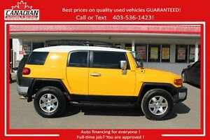 2007 Toyota FJ Cruiser Good shapeULTIMATE 4X4 FINANCING FOR ALL!