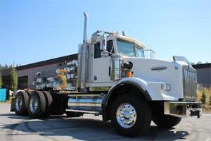 2002 Kenworth T800 Daycab with Single Turbo Cat Unit #4772