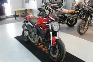 2016 DUCATI MONSTER 821 STRIPE
