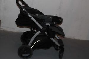 Stroller with car seat