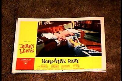 ROCK A BYE BABY 1958 LOBBY CARD #8 JERRY LEWIS