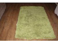 'Next' medium size green Carpet *Rug RRP £80