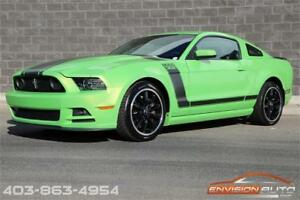 2013 FORD MUSTANG BOSS 302 \ RED TRACK KEY ENABLED \ ONLY 12KMS!