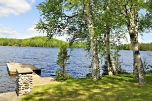 Cottage for rent on beautiful Kashagawigamog Lake