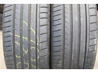 245/40/19 & 275/35/19 Bmw Runflat Tyres Michelin, Dunlop, Goodyear Part Worn Used Tyres in Pairs, 18