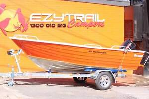 Horizon 420 Allrounder Boat, 30HP Tohatsu Motor FREE REGO Capital Hill South Canberra Preview