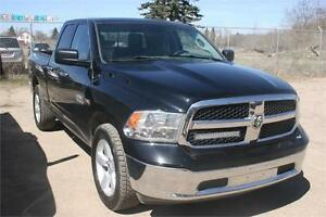 2014 Ram 1500 SLT Quad Cab 4x4~Hemi~8 Speed ~ $180 B/W