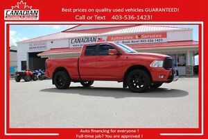 2012 Ram 1500 Sport 4X4 LOW KMS & LOADED FINANCING FOR ALL!