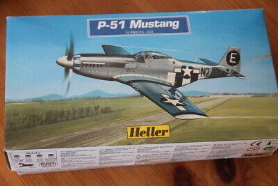 Heller (80268): North American P-51D Mustang au 1/72