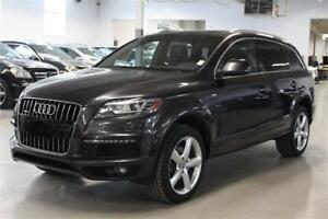2014 Audi Q7 3.0T SLINE/NAVIGATION/PANO/BACK-UP CAMERA/DVD