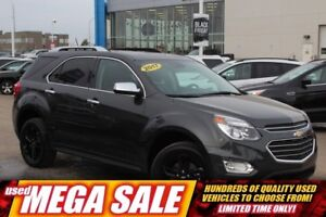 2017 Chevrolet Equinox Premier V6 AWD| Sun| Nav| Heat Leath| Saf