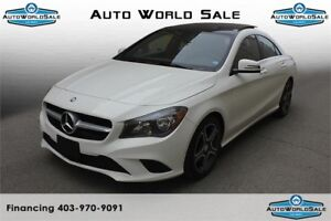 2014 Mercedes CLA250 LOW kms  Camera  Memory Seats  Sunroof