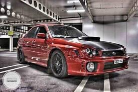 Subaru impreza WRX bugeye