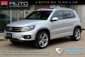 2014 Volkswagen Tiguan HIGHLINE R-LINE AWD - TOP-OF-THE-LINE