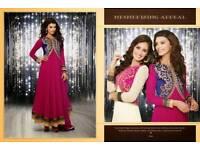 Pink anarkali- asian /indian/ pakistani wear