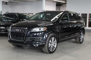 2013 Audi Q7 3.0T NAVI/PANO/PUSH START/BLIND SPOT ASSIST