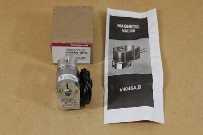 Honeywell Magnetic Valve V4046a 1074