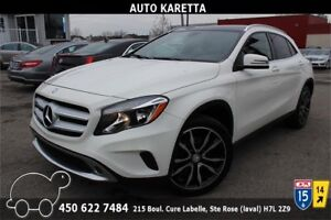 2015 MERCEDES-BENZ GLA250 4MATIC NAVI,CAMERA,PANORAMIC,GARANTIE