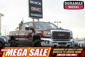 2017 GMC SIERRA 2500HD SLT Z71| Sun| Nav| H/C Leath| Rem Start|