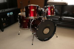 Pearl Export drums 4-piece