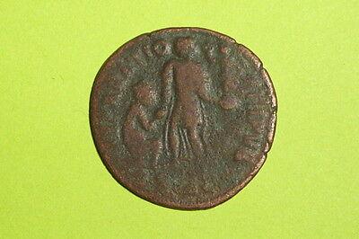 RARE Ancient ROMAN COIN of THEODOSIUS 379 AD-395AD raising kneeling city goddess