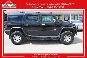 2004 HUMMER H2 LOADED GOOD SHAPE 4X4 6.0 FINANCING FOR ALL