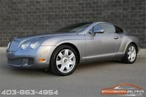 2010 Bentley Continental GT SPOTLESS HISTORY \ LOCAL ALBERTA CAR