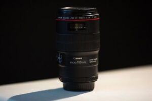 Canon 100mm L 2.8 macro lens (price reduced)