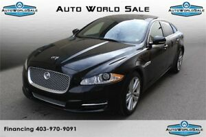 2013 JAGUAR XJL |3.0T-AWD| PORTFOLIO- LONG WHEEL BASE |