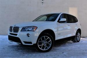 2012 BMW X3 XDRIVE | CERFIFIED | LEATHER | AWD |