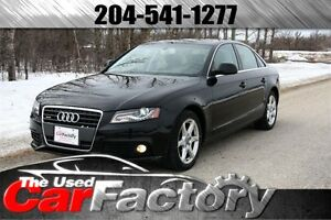 2009 Audi A4 LEATHER AWD LOW KM