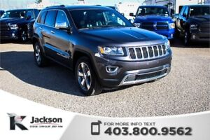 2016 Jeep Grand Cherokee Limited - Bluetooth, Memory Seating