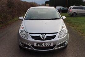 Vauxhall Corsa (2010) 1.2 petrol, 46,000 miles