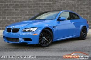 2013 BMW M3 INDIVIDUAL SANTORINI BLUE \ COMPETITION \ EXECUTIVE