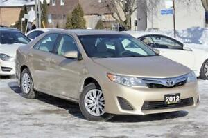 2012 Toyota Camry LE - Low KM - Local Ontario Vehicle - Cert!