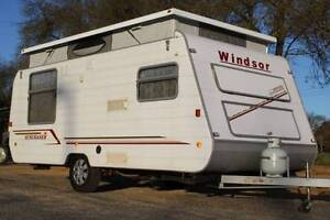#1874 Windsor 16'6'' Pop Top, Full annex, 12 rego, Penrith Penrith Area Preview