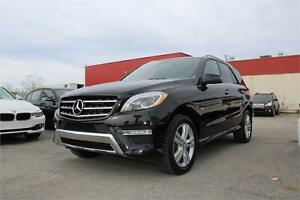 2012 MERCEDES ML350 BLUETEC 4X4 NAVI/CAMERA/CLEAN CARPROOF