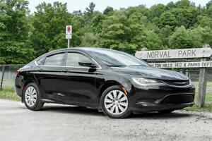 2016 Chrysler 200 LX/ Car Loans for Any Credit